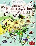 Sam Lake Sticker Picture Atlas of the World (Sticker Book)