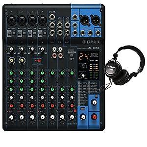 Yamaha MG10XU 10-Input Stereo Mixer. W/ Free Tascam TH02