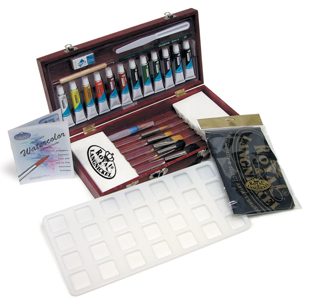 Watercolor Painting Box Set
