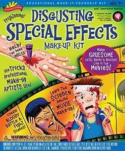 POOF-Slinky 0S6802010 Scientific Explorer Disgusting Special Effects Makeup Kit, 7-Activities, Garden, Maison, Jardin, Pelouse, La maintenance