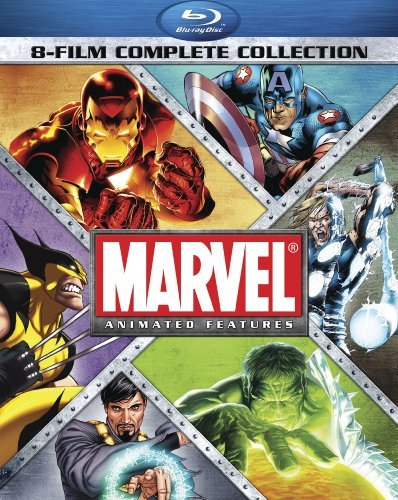 Marvel Animated Features: 8-Film Complete Collection [Blu-ray] (Marvel Blu Ray compare prices)