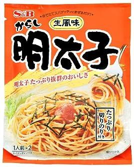 エスビー 生風味スパゲッティソース からし明太子 53.4g×10個
