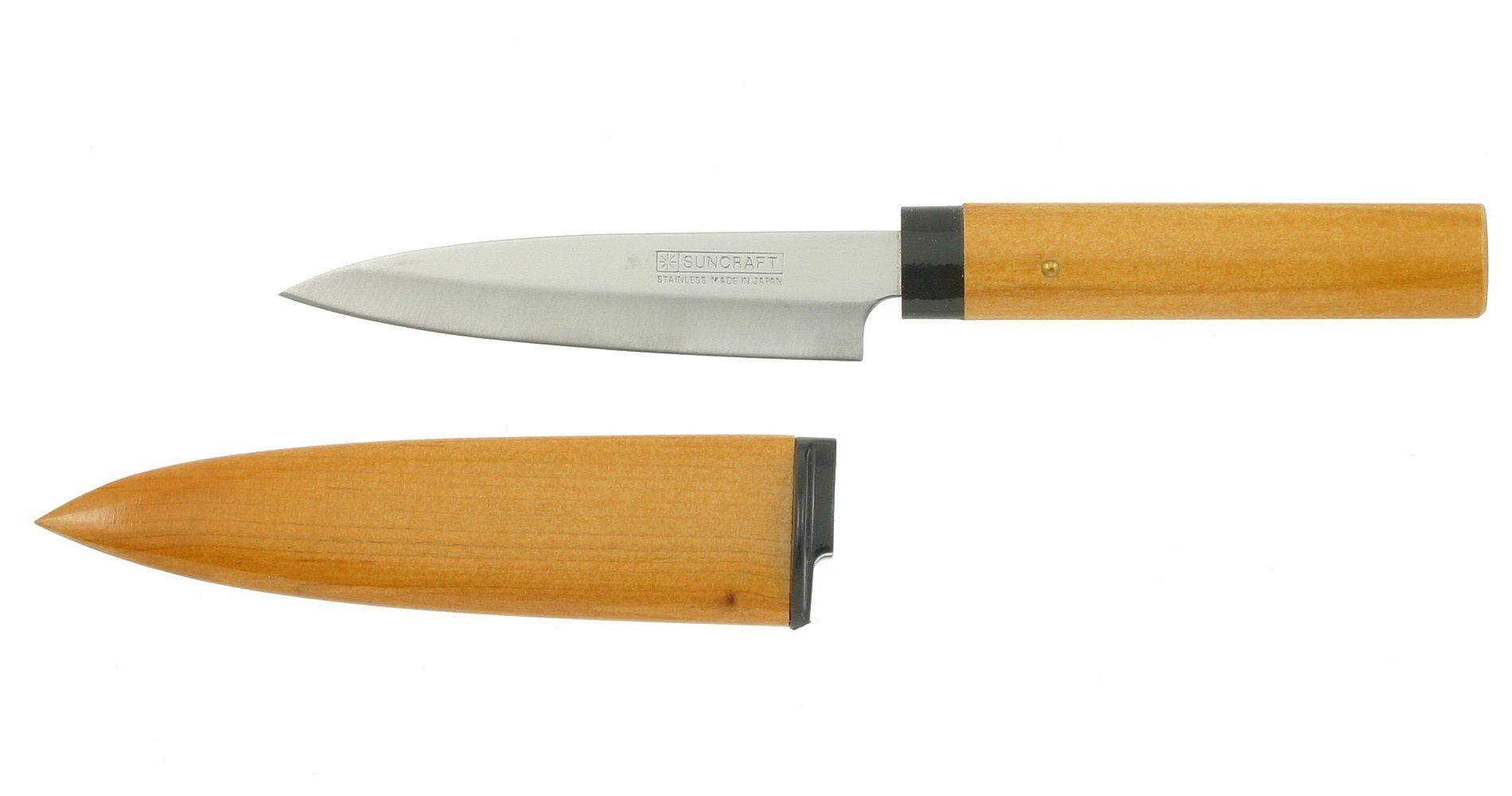 NEW Kotobuki Fruit Knife With Wood Cover Brown Vegetable ...