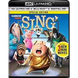 Sing (Special Edition) [4K Ultra HD + Blu-ray]