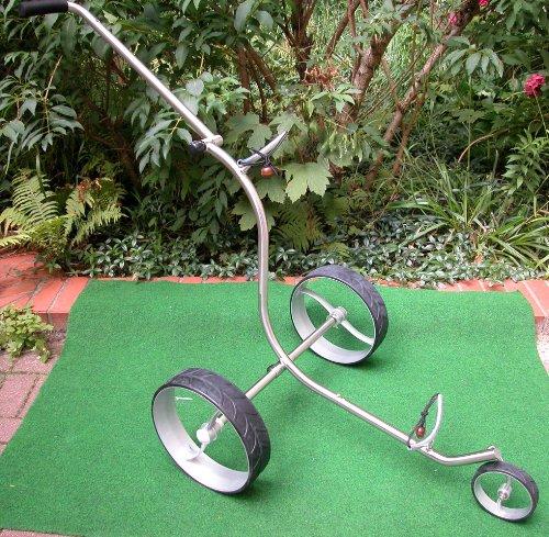 GFA Edelstahl Golftrolley NEU entwickelt in Germany Golf Trolley