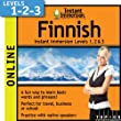 Instant Immersion Finnish - Level 1, 2 & 3 (2-year subscription)