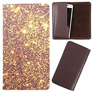DooDa - For Lava Xolo Q600 PU Leather Designer Fashionable Fancy Case Cover Pouch With Smooth Inner Velvet