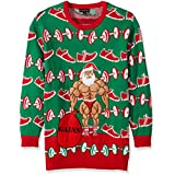 Blizzard Bay Men's Tall Xmas-Fitness Ugly Christmas Sweater, Green/Red, 4X-Large/Big