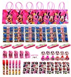 Disney Minnie Mouse Party Favor Set - 6 Packs (114 Pcs)