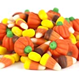 Autumn Mix, Candy Corn & Pumpkins ~ 2 Lbs. ~ Halloween / Fall Candy (Tamaño: 32 Ounces)