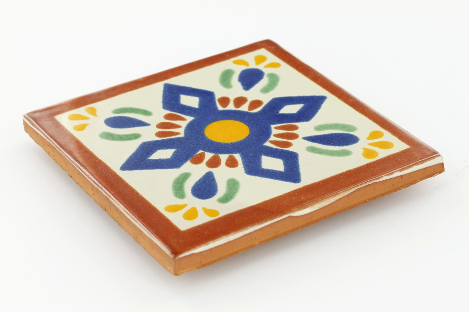 4¼ x 4¼ San Angel - Talavera Mexican Ceramic Tile обогреватель tourist tierra th 3200