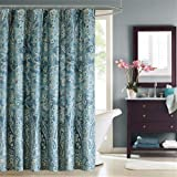 Harbor House Belcourt 200TC Cotton Shower Curtain - Blue - 72x72""