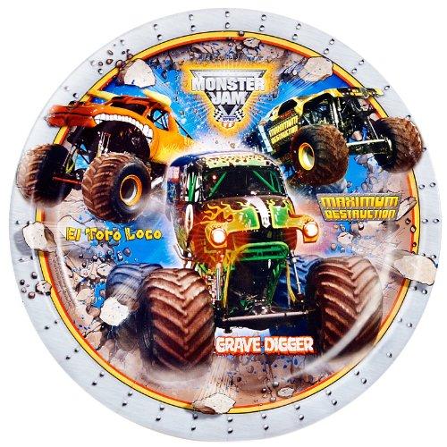 Monster Jam 3D Dinner Plates (8)