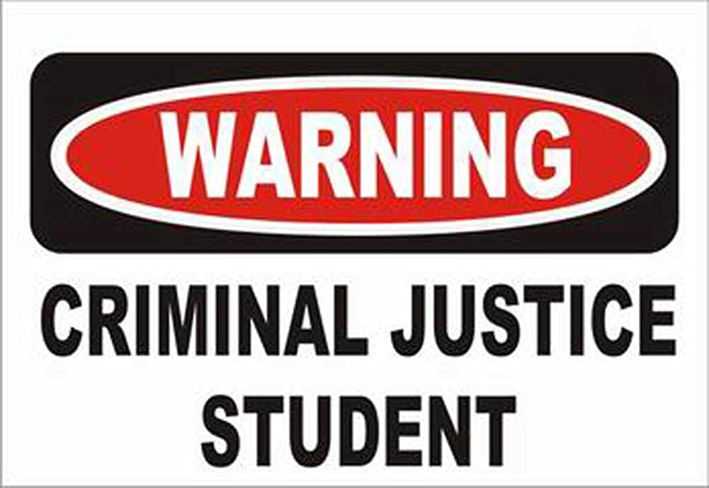 Criminal Justice are subjects in college capitalized