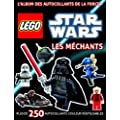Lego Star Wars, le Livre Stickers : les Mchants