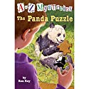 A to Z Mysteries: The Panda Puzzle Audiobook by Ron Roy Narrated by David Pittu
