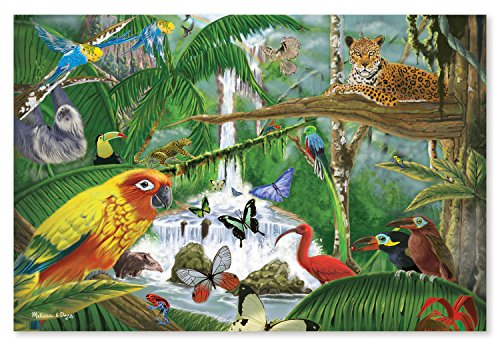 Melissa & Doug Rain Forest Majesty Floor Puzzle, 48-Piece
