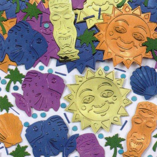 Tiki Jumbo Embossed Confetti 1/2oz