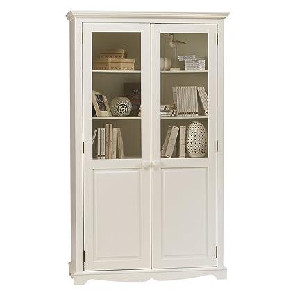 effettivo Diffusion 40222Windsor libreria con 2ante in legno bianco 42x 109x 186cm