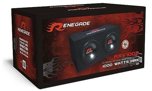 Renegade RXV 1002 Système audio pour voiture