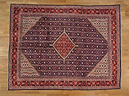 9\'x12\' Persian Mahal Full Pile Exc Cond Hand Knotted Oriental Rug G21905
