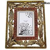 Artlivo Wooden Carved Photo Frame PF009
