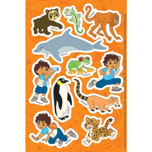 Go Diego, Go! Stickers 2 Sheets