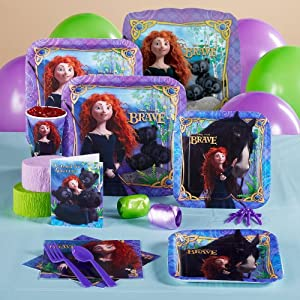 Disney Brave Standard Party Pack for 8 Party Accessory