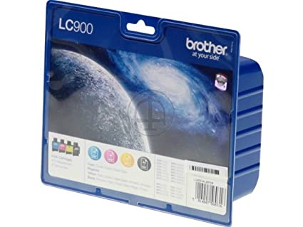 Brother MFC-420 CN (LC-900 VAL BPDR) - original - Ink cartridge multi pack (black, cyan, magenta, yellow) - 500 Pages
