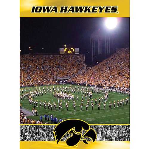 Cheap Fun Racing Reflections Iowa Hawkeyes 18X22 550 Piece Jigsaw Puzzle (B002QTRULA)