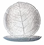 Arc International Luminarc Aspen Clear Dessert Plate, 7-1/2-Inch, Set of 6