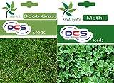 DCS Doob Grass & Methi Seeds (Per Pack Of 50 Seeds)