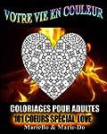 Coloriages pour adultes - 101 Coeurs...