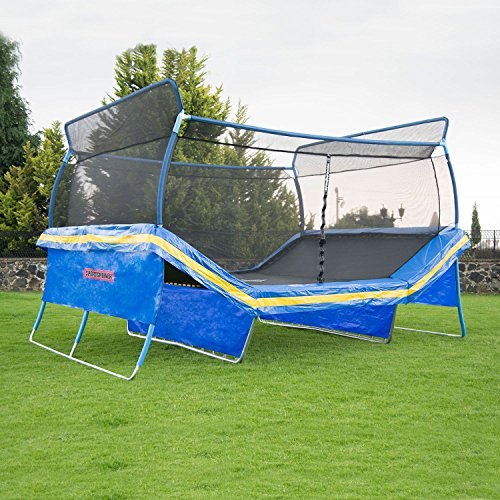 Fitness Trampoline With Innovative Court Style Design V
