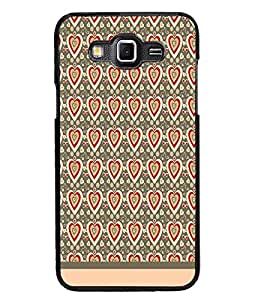 PrintDhaba Heart Pattern D-1598 Back Case Cover for SAMSUNG GALAXY GRAND MAX (Multi-Coloured)
