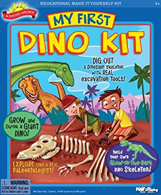 POOF-Slinky 0SA227 Scientific Explorer My First Dino Kit, 3-Activities by Scientific Explorer