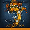 Days of Blood and Starlight: Daughter of Smoke and Bone, Book Two Audiobook by Laini Taylor Narrated by Khristine Hvam