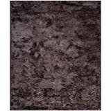 Safavieh SBS562G South Beach Shag Collection Area Rug, 8-Feet by 10-Feet, Lavender