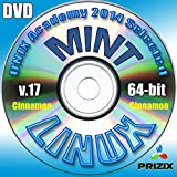 Mint Cinnamon 17 Linux DVD 64-bit Full Installation Includes Complimentary UNIX Academy Evaluation Exam