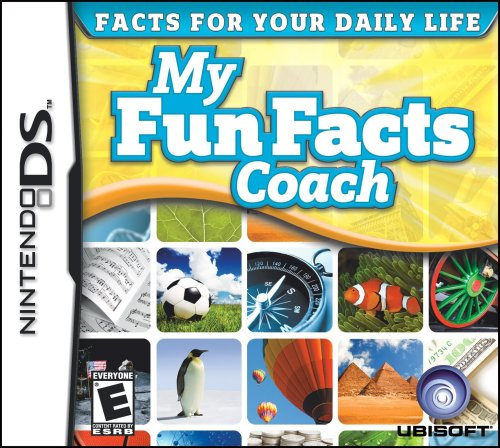 My Fun Facts Coach - Nintendo DS - 1