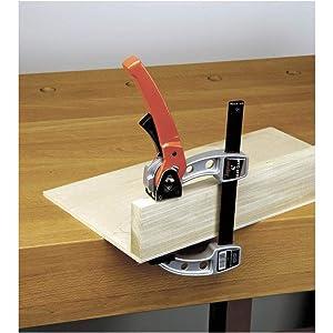 Jorgensen 38004 Gear Clamp Bar Clamp, 4-Inch (Color: Steel, Tamaño: 4-Inch)