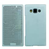 Heartly Dot View Touch Sensative Flip Thin Hard Shell Premium Bumper Back Case Cover For Samsung Galaxy A5 SM-A500F...