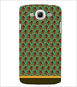 PrintDhaba Owl Pattern D-1675 Back Case Cover for SAMSUNG GALAXY MEGA 5.8 (Multi-Coloured)