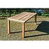 Tisch feststehend, rechteckig 180 x 90 cm Remo, Teak
