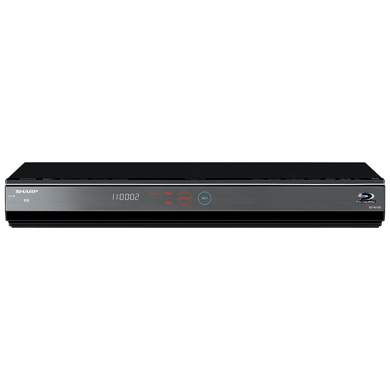 SHARP AQUOSブルーレイ ブルーレイディスクレコーダー ハイグレードシリーズ BD-W1100