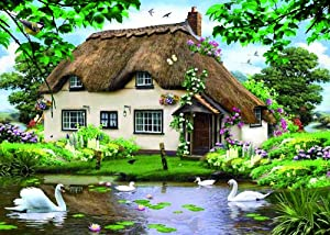 Falcon de Luxe - Swan Cottage Puzzle (500 Pieces)