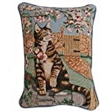 American Mills 24873.458 Cat and Bee Pillow, 16