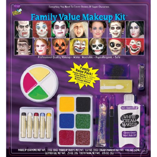 Costumes For All Occasions Fw9543F Festive Family Makeup Kit - 1