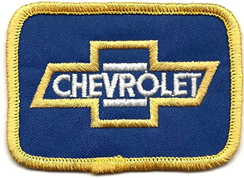 Chevy Chevrolet Automobile Racing Patch 3 Inches Long Vintage