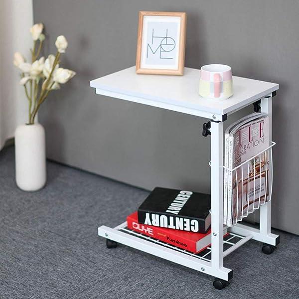 WSI Laptop Bett Tabelle, Computertisch Rutschfester Fuß Adjustable Persönlicher Moderner Laptop Schreibtisch Ausgangseinfaches Schreibtisch Bett Büro 30 48 56CM / Pattern 5 (Color: Pattern 5)